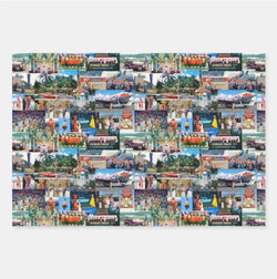 Alohaland Picture Print Wrapping Paper