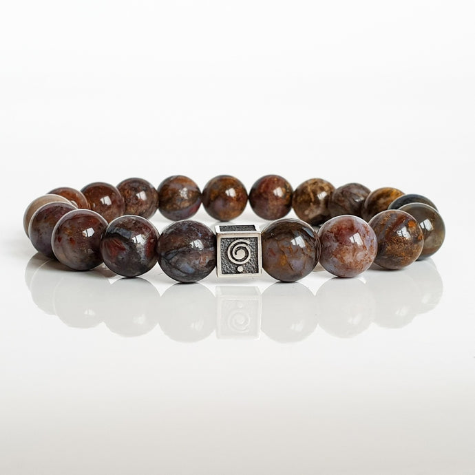 Pietersite Silver Bracelet for Women