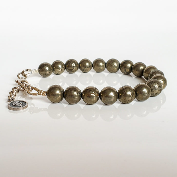 Pyrite A+ Silver Bracelet for Women