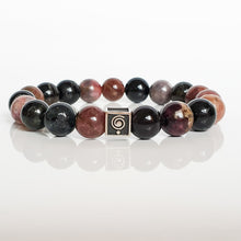 "Load image into Gallery viewer, Tourmaline Bracelet for Men ""Harmony"""