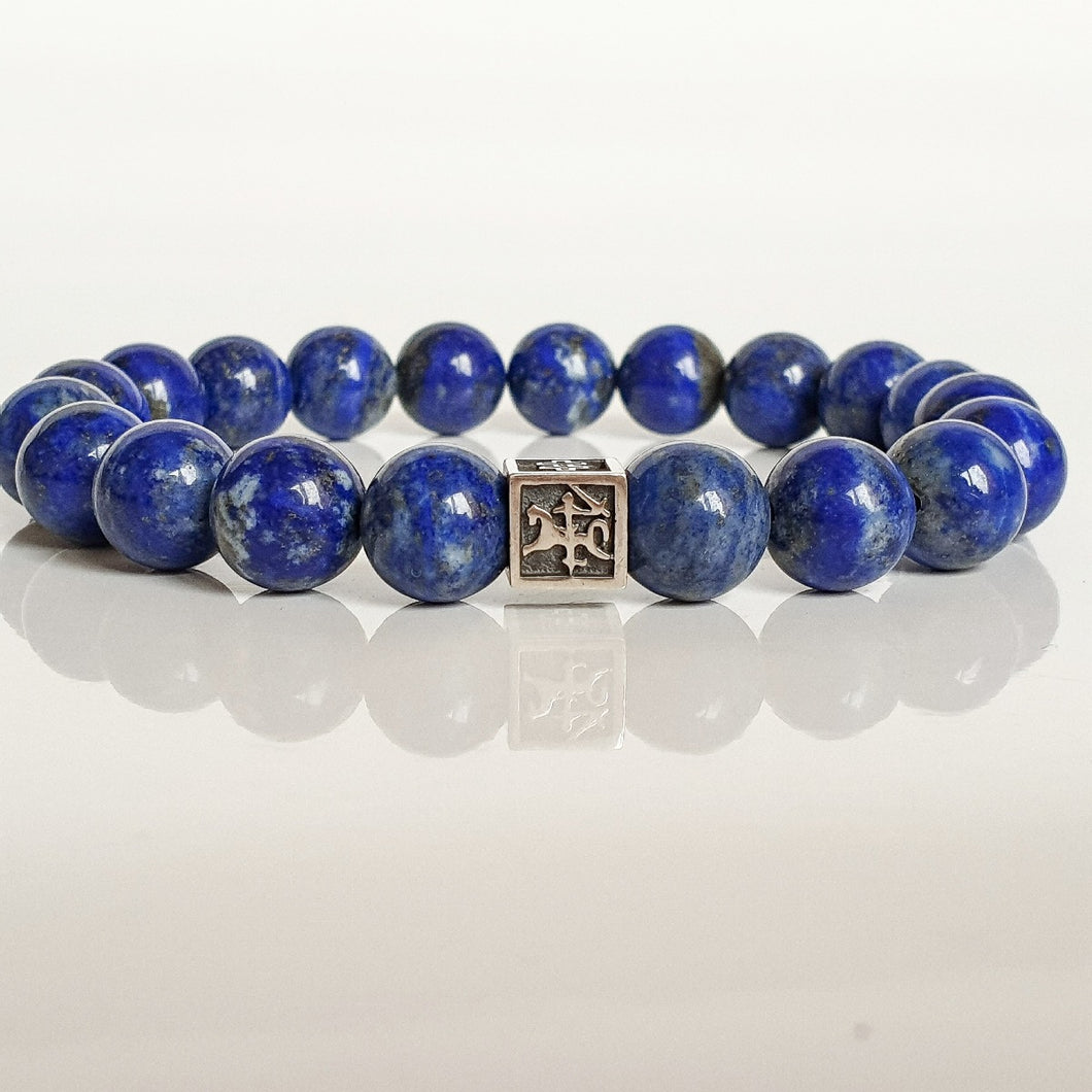 Lazurite Bracelet for Men - Vytis -