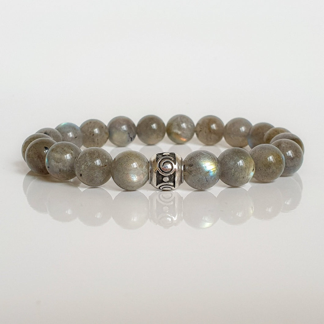 Labradorite Silver Bracelet for Women