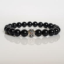 "Load image into Gallery viewer, Black Tourmaline Bracelet for Women ""Harmony"""