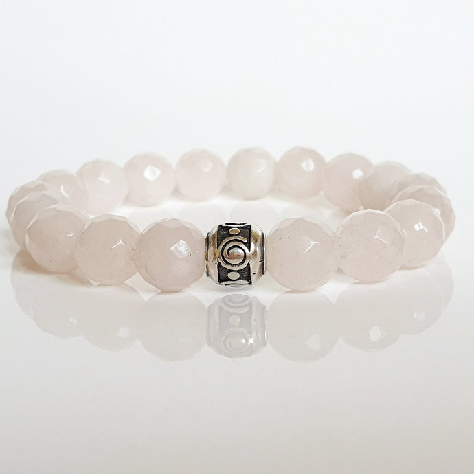 Pink Quartz Bracelet for Women