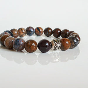 "Pietersite Bracelet for Women ""Tempest Stone"""