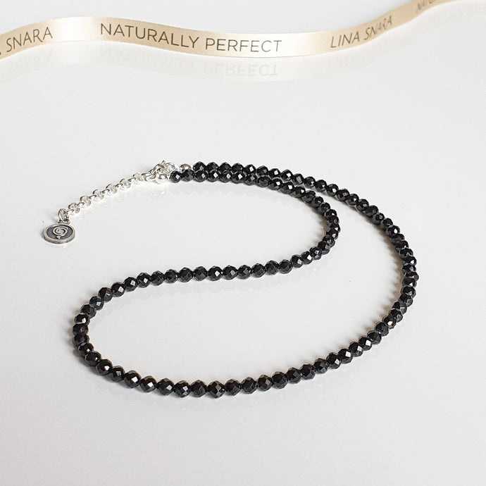 Spinel Silver Necklace for Women