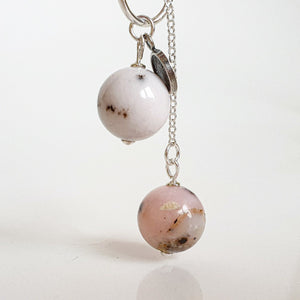 "Pink Opal Necklace ""Self Love"""