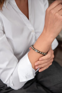Pyrite Bracelet for Women - The Light