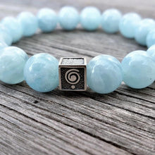 Load image into Gallery viewer, Aquamarine Bracelet for Men - The Light | Lina Snara