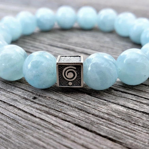 Aquamarine Bracelet for Men - The Light | Lina Snara