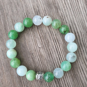 Chrysoprase Bracelet for Women - The Light - Round | Lina Snara