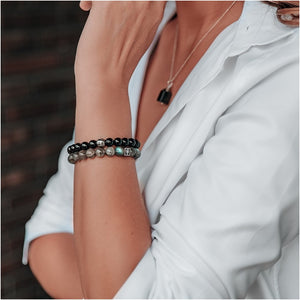 Labradorite Bracelet for Women - The Light - Round | Lina Snara