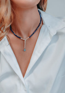 Lazurite Necklace | Lina Snara