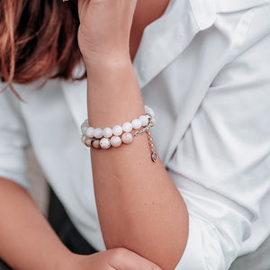 Pink Opal Bracelet for Women - Naturally Perfect | Lina Snara