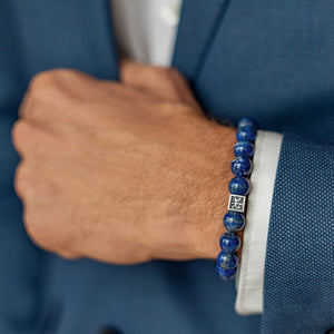 Lazurite Bracelet for Men - Vytis | Lina Snara