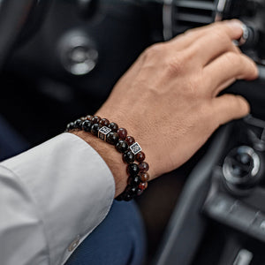 Obsidian Bracelet for Men - Vytis | Lina Snara