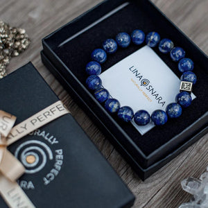 Lazurite Bracelet for Men - The Light | Lina Snara
