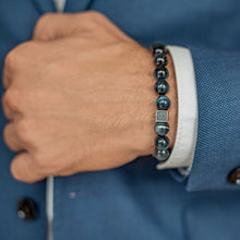 Load image into Gallery viewer, Hawk's Eye Bracelet for Men - Vytis | Lina Snara