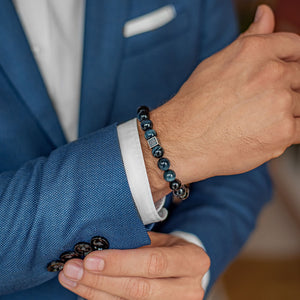Hawk's Eye Bracelet for Men - Vytis | Lina Snara