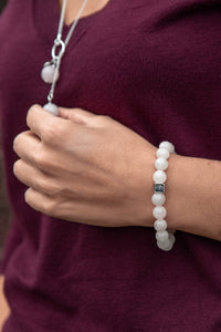 "Pink Quartz Silver Bracelet for Women ""Softness"""
