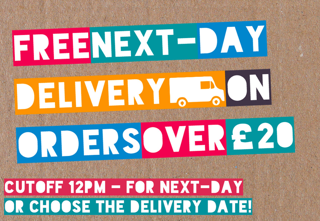 Cakes delivered by post when you need them. Free next day delivery over £20.