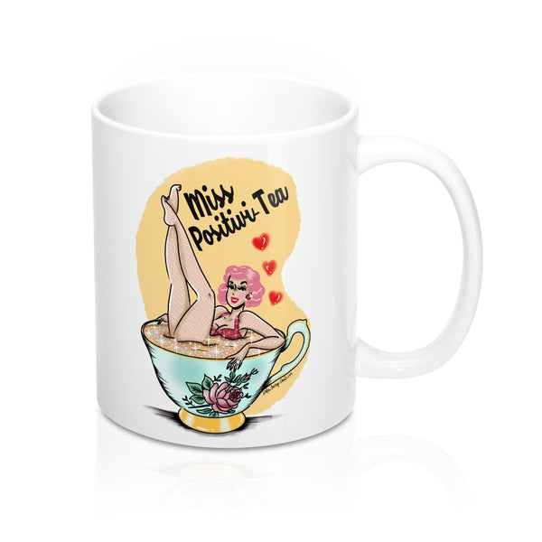 Miss Positivi-Tea Mug for Bully Zero