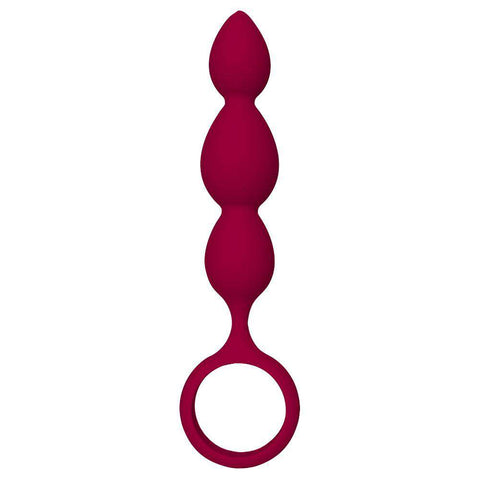 Dream Toys Silky Smooth Teardrop Anal Plug