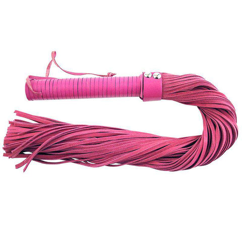 Rouge Garments Pink Suede Flogger