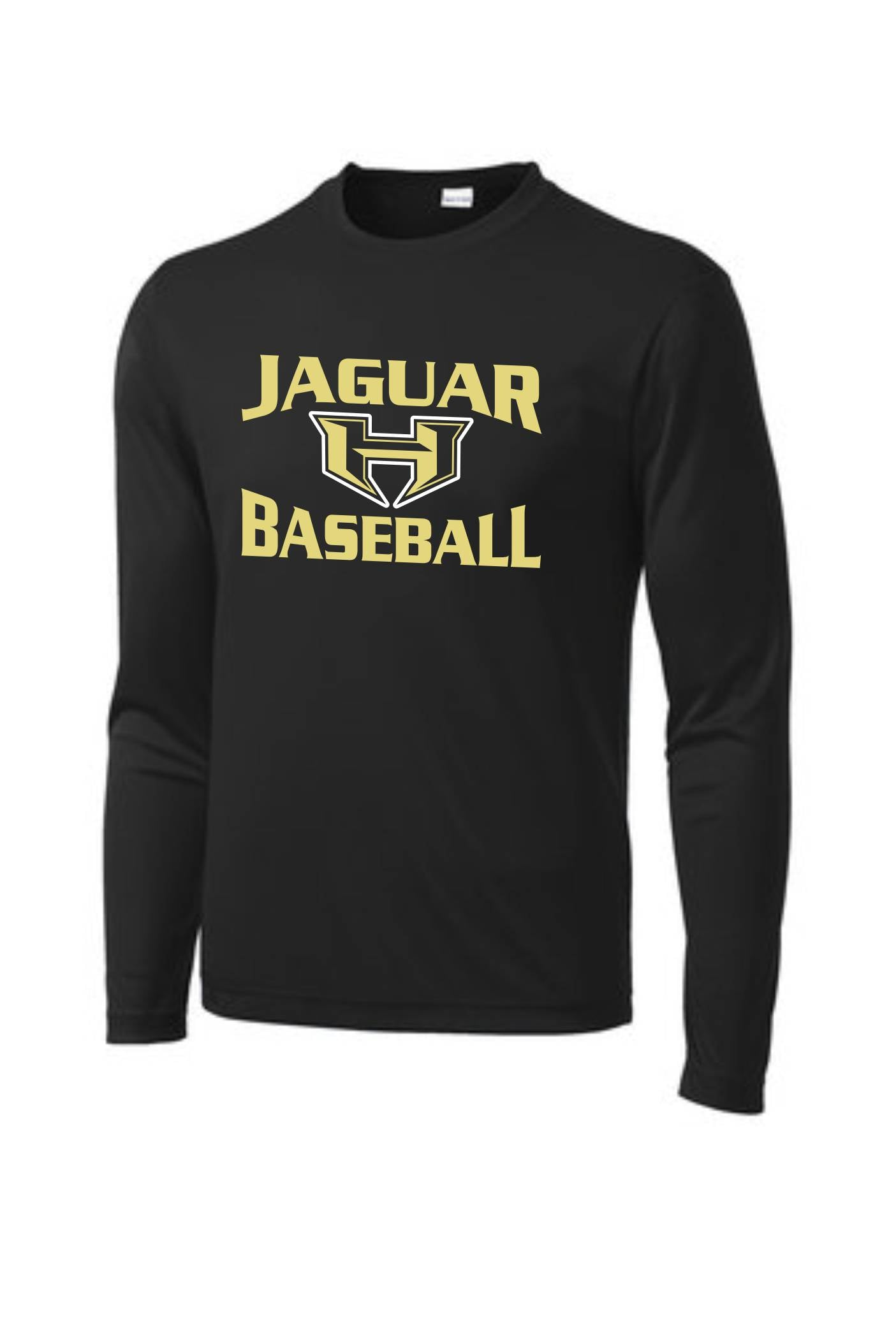 Hubbard Parent Shirt- Long Sleeve Dri-Fit- Baseball