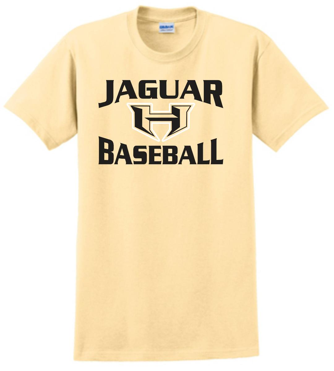 Hubbard Parent Shirt- Short Sleeve Cotton- Baseball