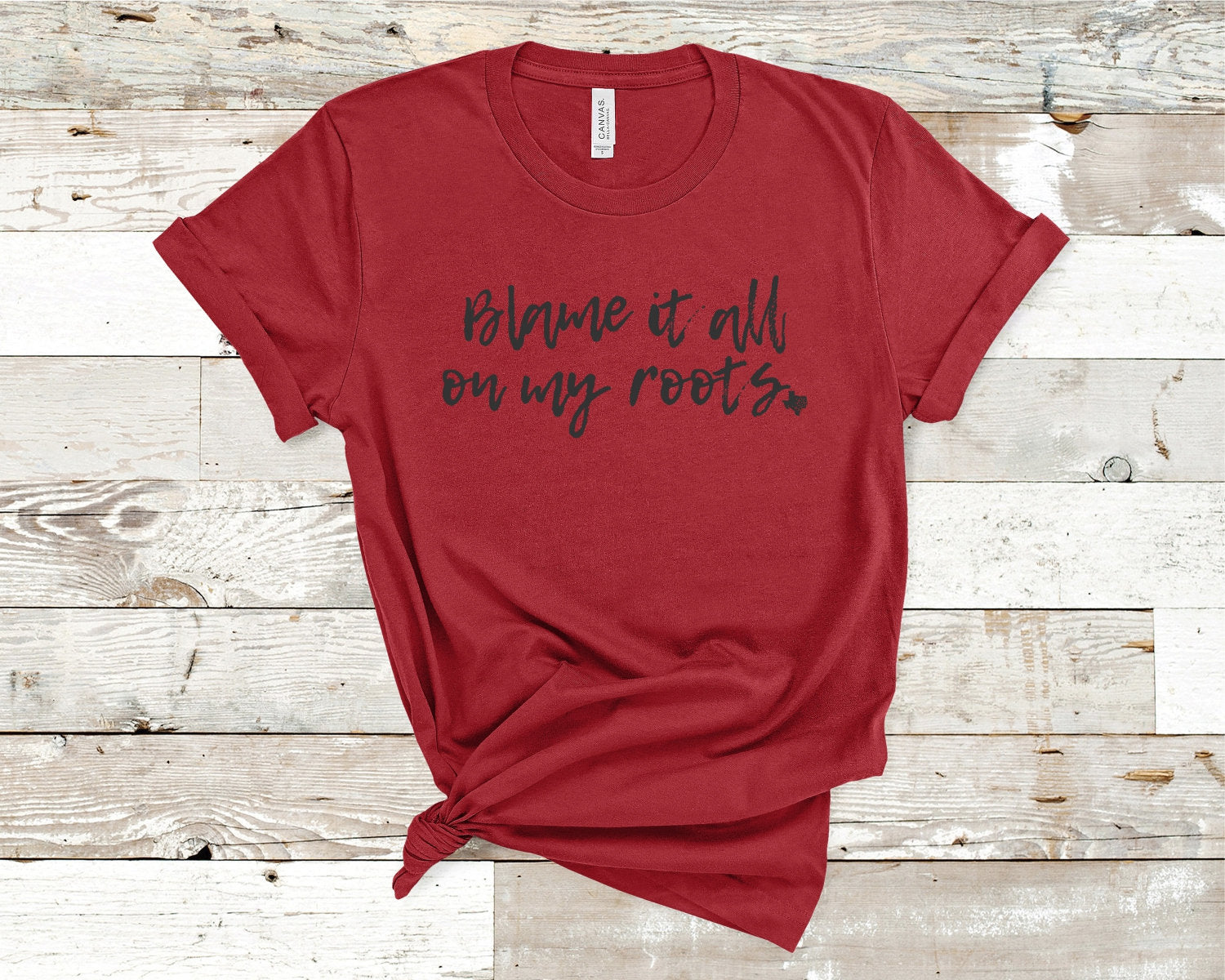 BLAME it all on MY ROOTS shirt- Garth Brooks- Texas- Southern Shirt