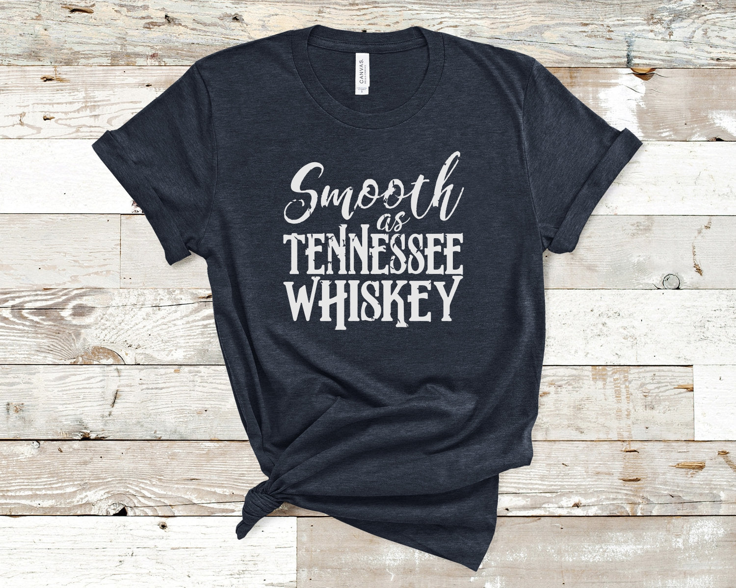 TENNESSEE WHISKEY SHIRT- Smooth as Tennessee whiskey shirt- Chris Stapleton shirt- Texas Country Shirt