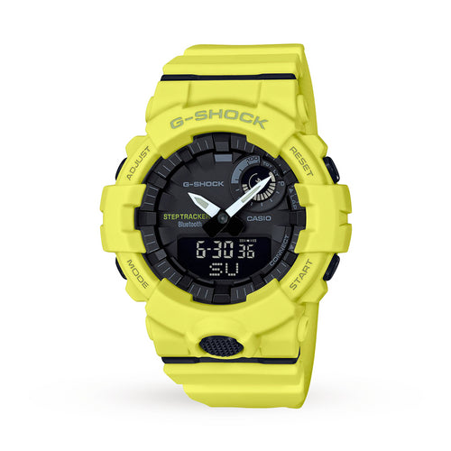 Casio G-Shock Bluetooth Step Tracker Watch GBA-800-9AER