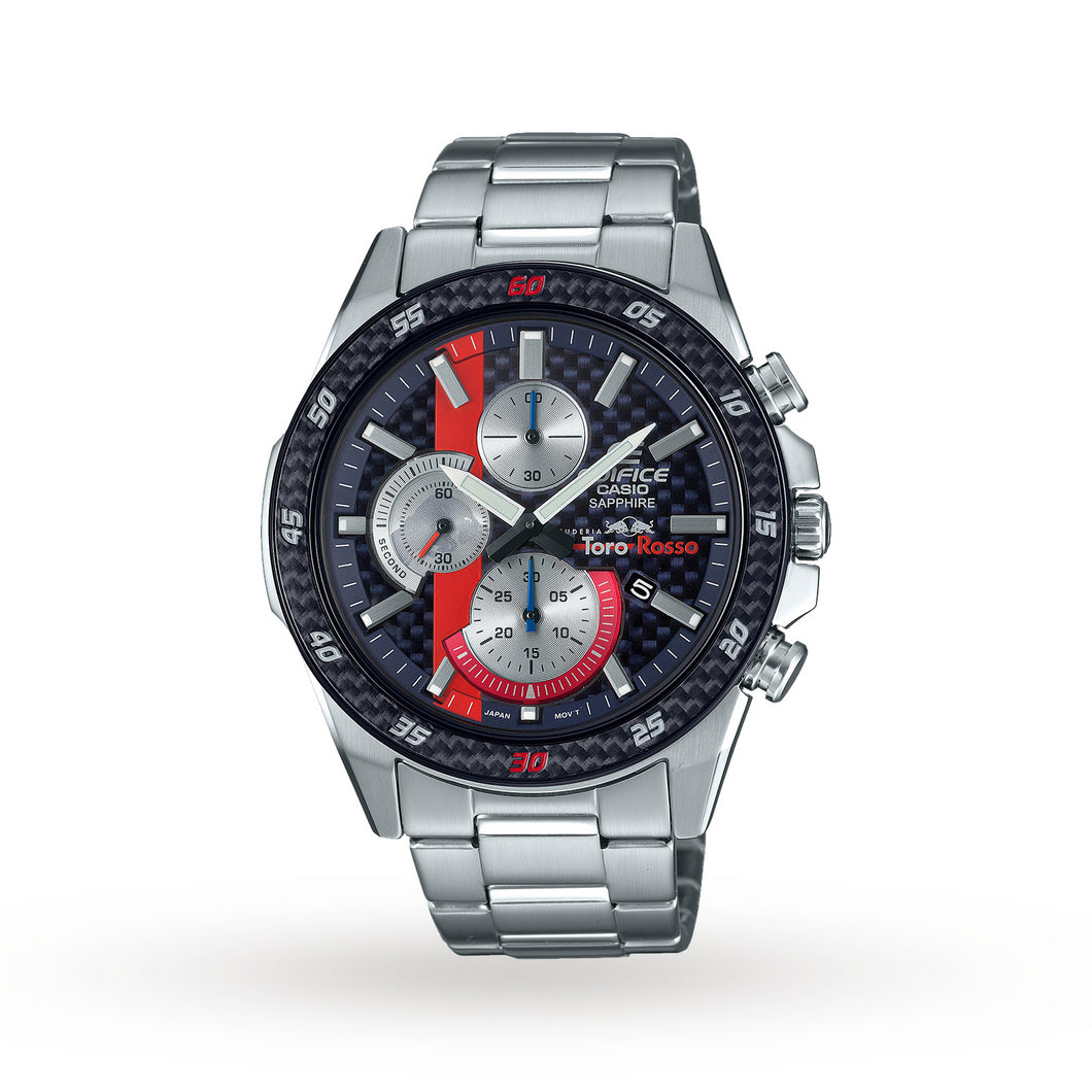 Casio Edifice Toro Rosso Stainless Steel Mens Watch EFR-S567TR-2AEF
