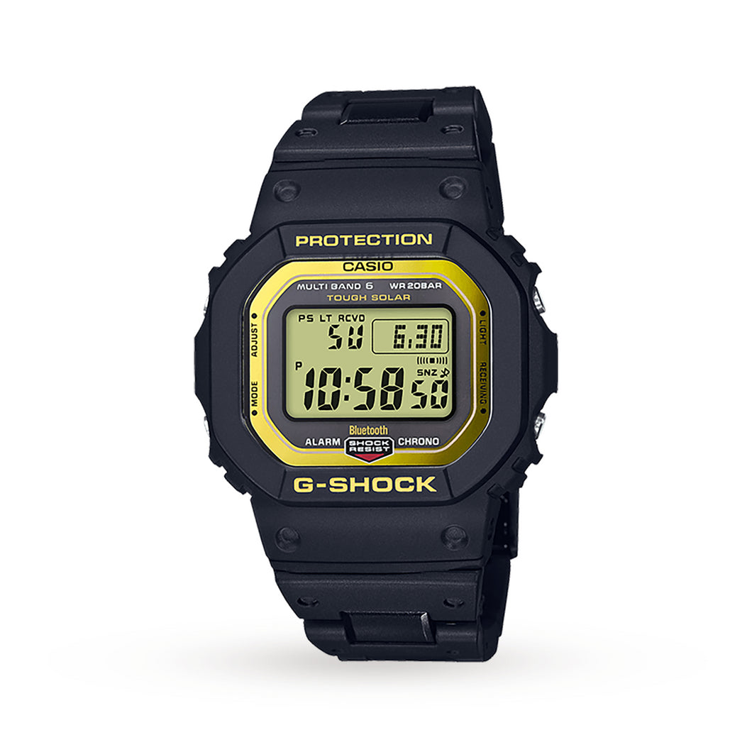Casio G-Shock Bluetooth Radio Controlled Composite Band Black/Yel