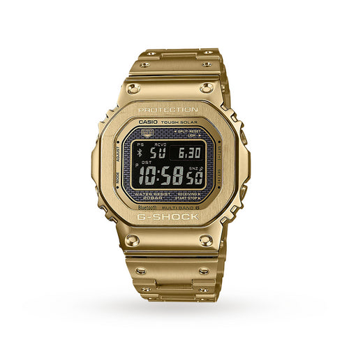 Casio G-Shock Radio Controlled Bluetooth Solar Gold Plated Steel