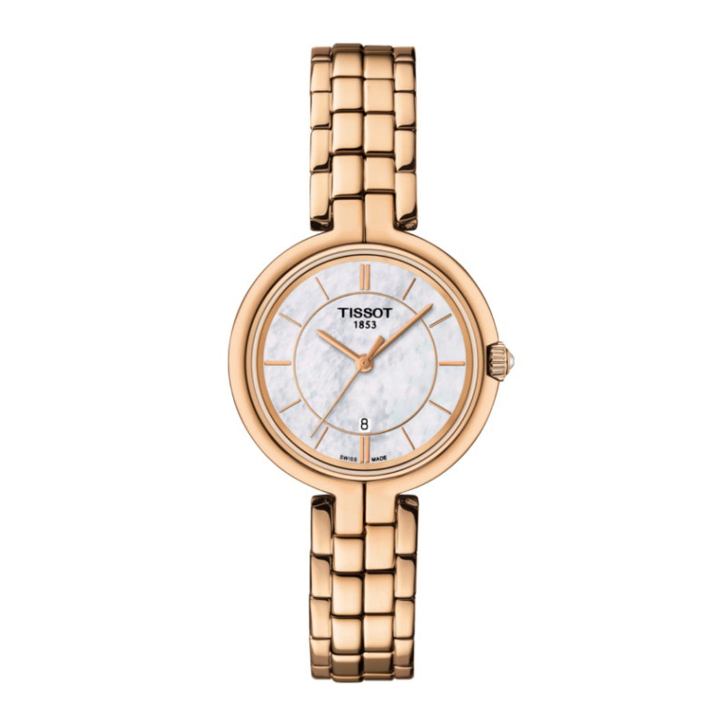Tissot Watch Flamingo Ladies T0942103311101