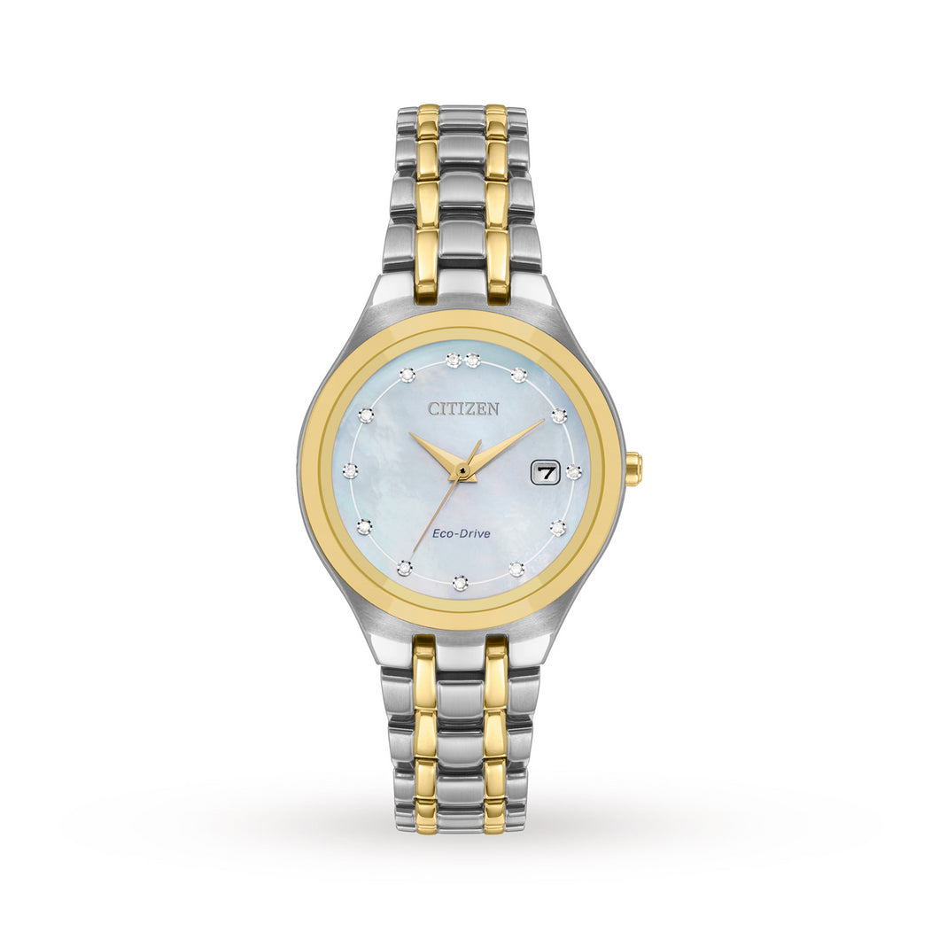 Citizen Diamond MOP Ladies Watch