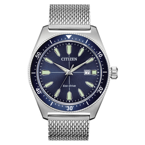Citizen Mesh Bracelet Eco-Drive Mens Watch