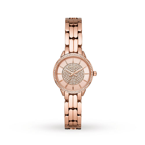 Michael Kors Allie Rose Tone Ladies Watch MK4413