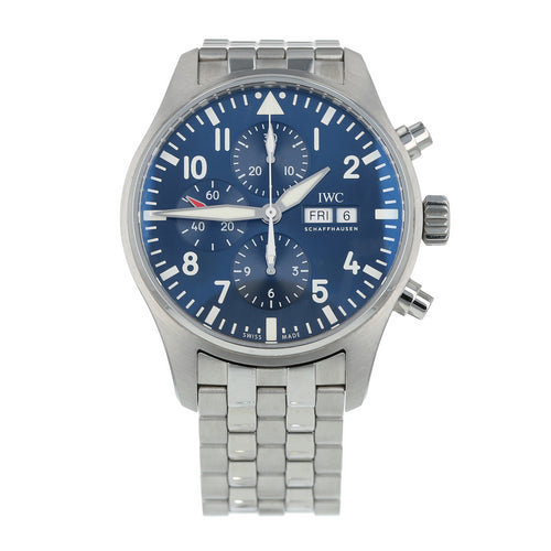 Pre-Owned IWC Pilot Le Petit Prince Mens Watch IW377717