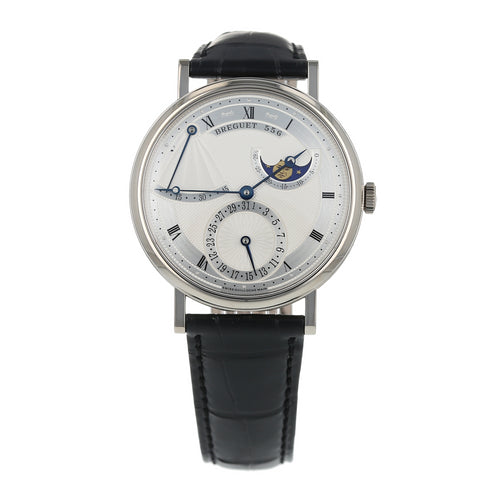 Pre-Owned Breguet Classique Moonphase Mens Watch 7137 BB