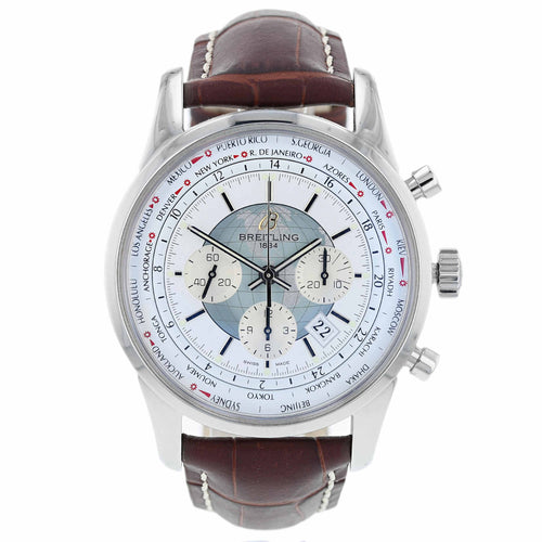 Pre-Owned Breitling Transocean Unitime Mens Watch