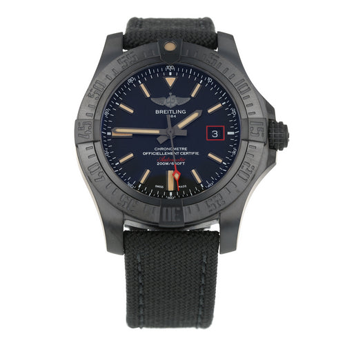 Pre-Owned Breitling Avenger Blackbird Mens Watch V17311