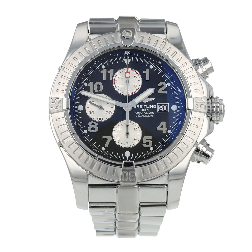 Pre-Owned Breitling Super Avenger Mens Watch A13370