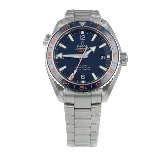 Pre-Owned Omega Seamaster Planet Ocean GMT Mens Watch 232.30.44.22.03.001