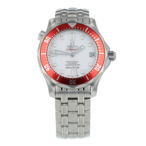 Pre-Owned Omega Seamaster Olympic Vancouver 2010 Mens Watch 212.30.36.20.04.001