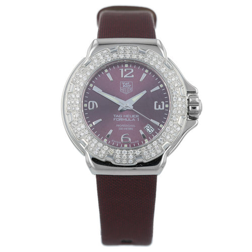 Pre-Owned TAG Heuer Formula 1 Ladies Watch WAC1219