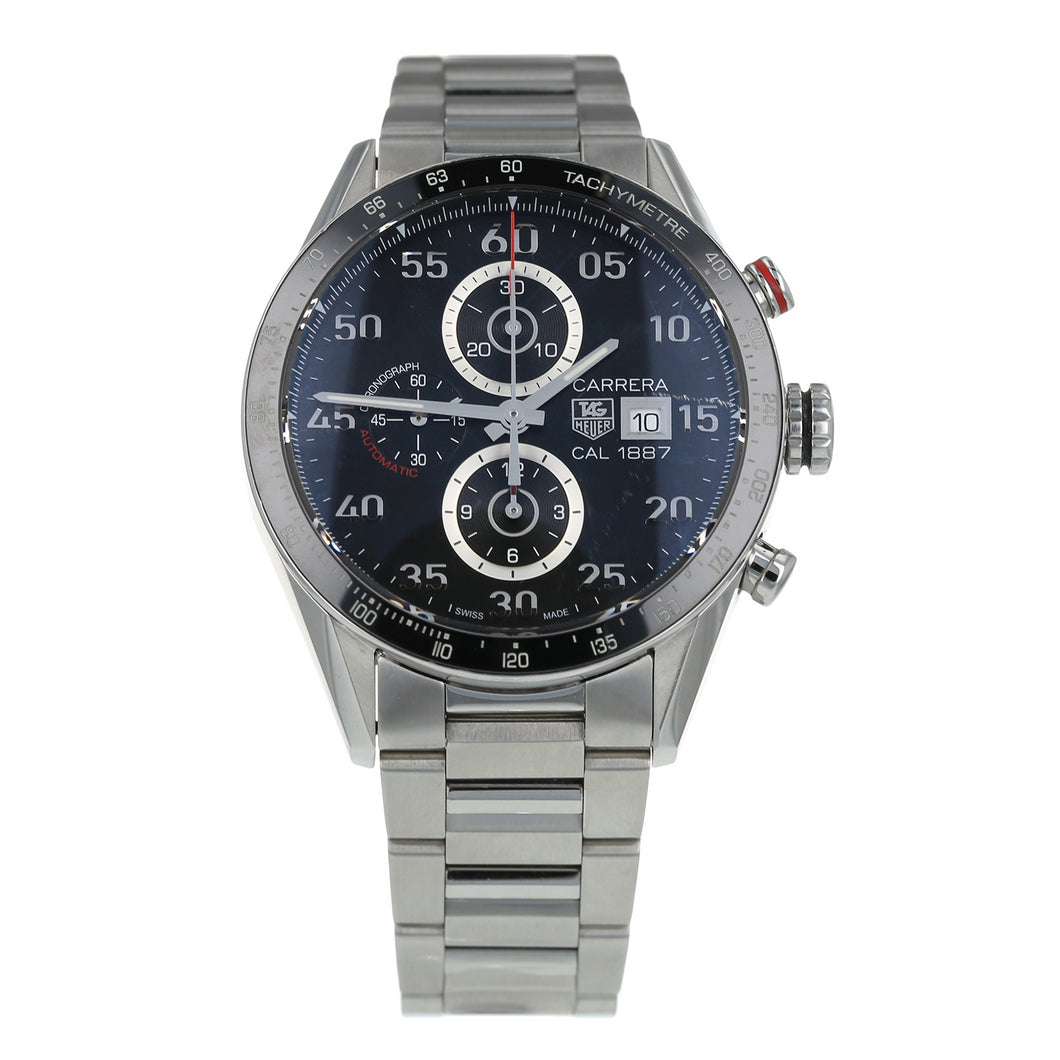 Pre-Owned TAG Heuer Carrera Calibre 1887 Mens Watch CAR2A10-1
