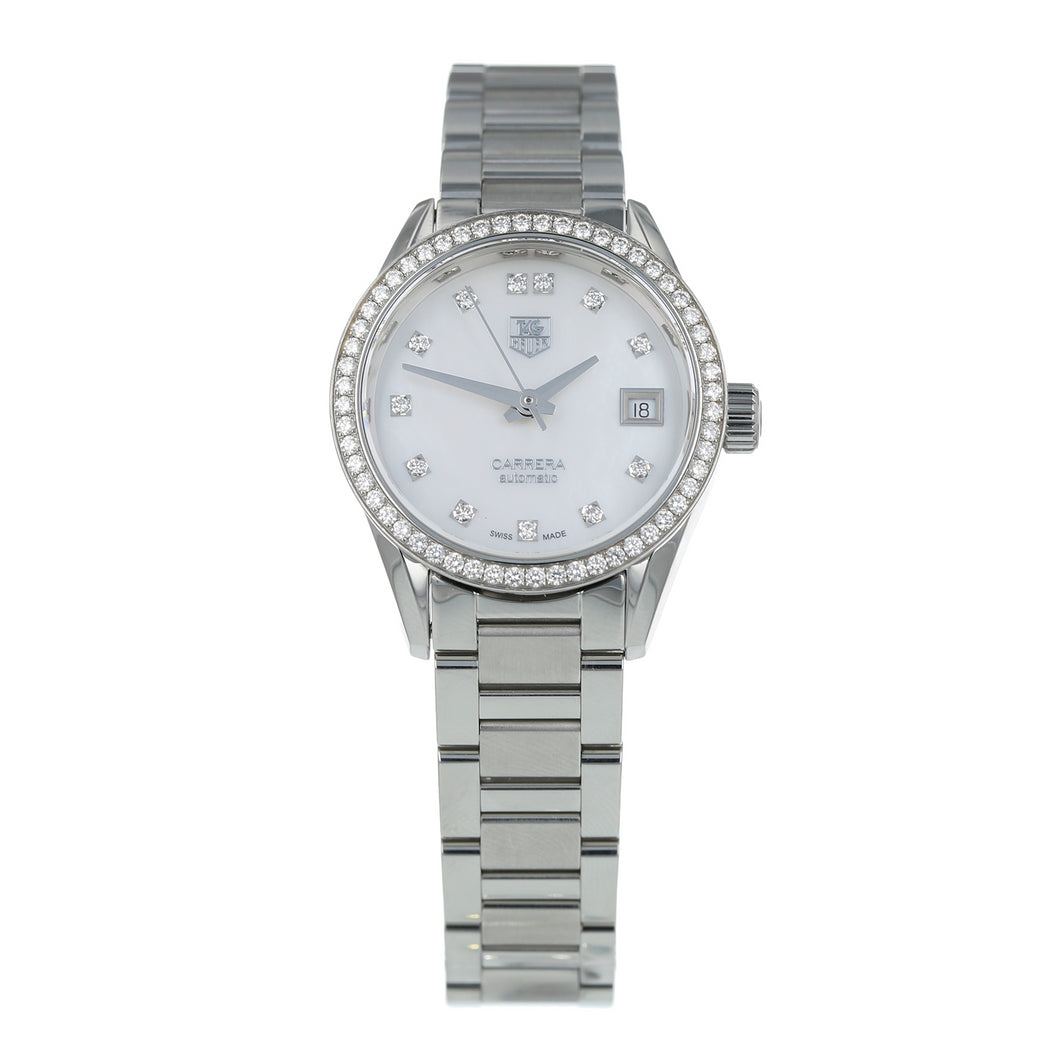 Pre-Owned TAG Heuer Carrera Ladies Watch WAR2415-3